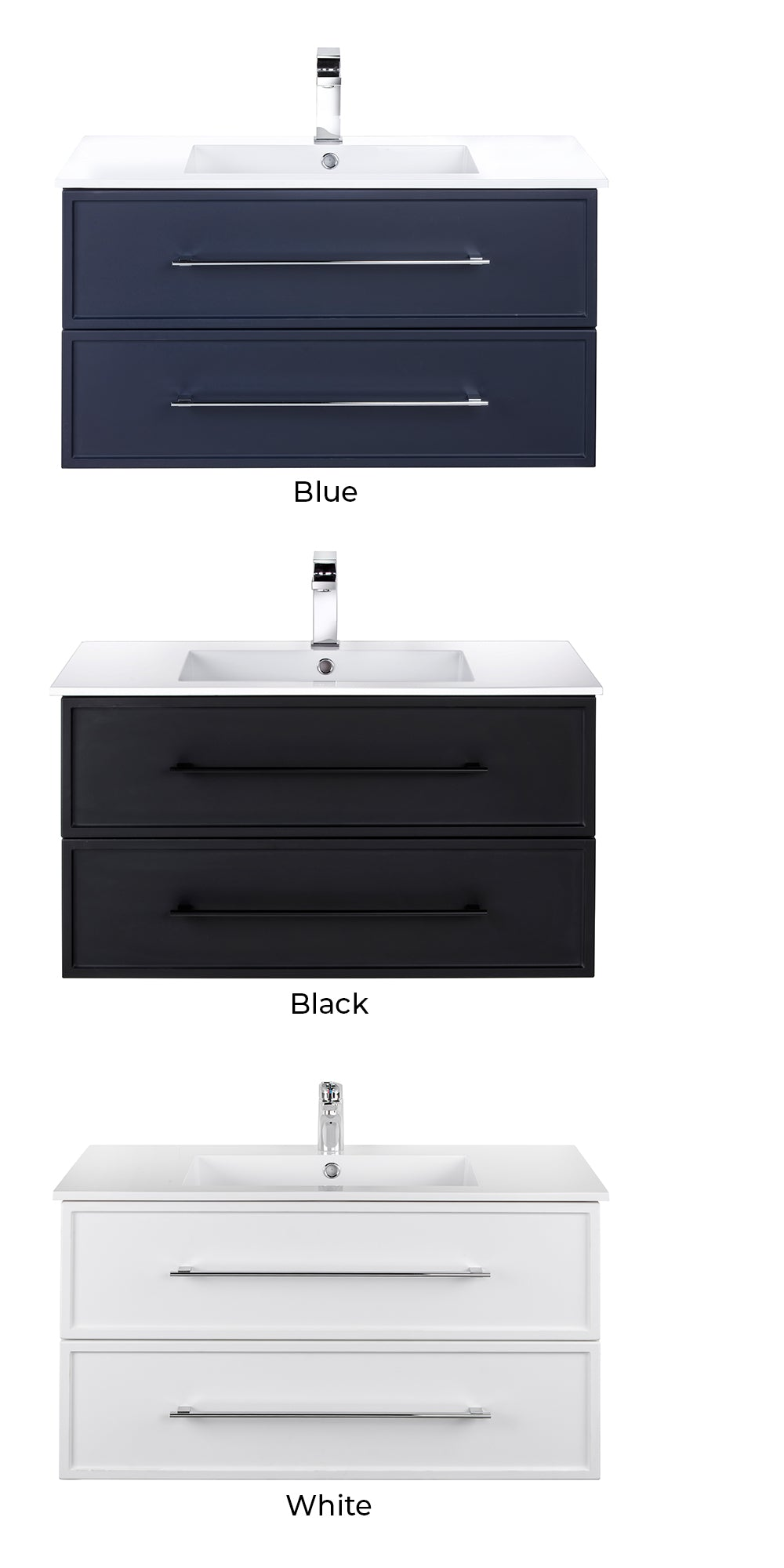 Milano Floating Vanity Color Collection