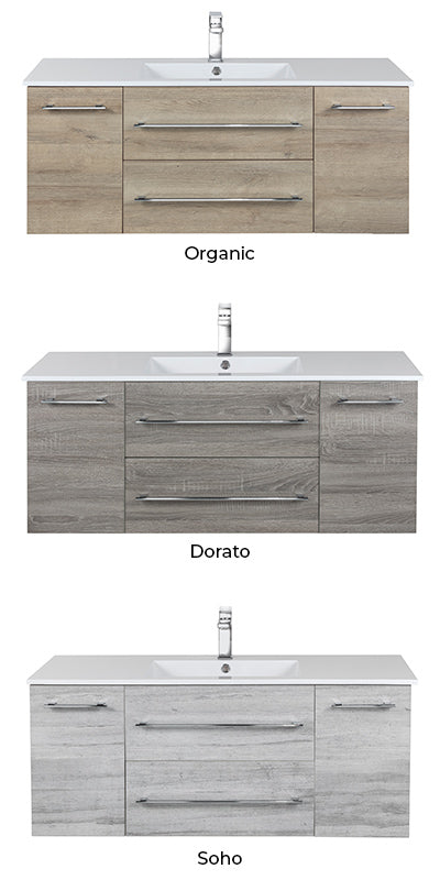 Piace Floating Vanity Color Selection
