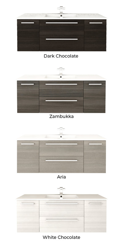 Silhouette Floating Vanity Color Selection