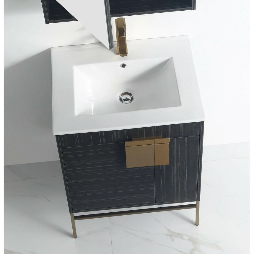 Lindsey Contemporary Vanity - O&N Floating Vanity