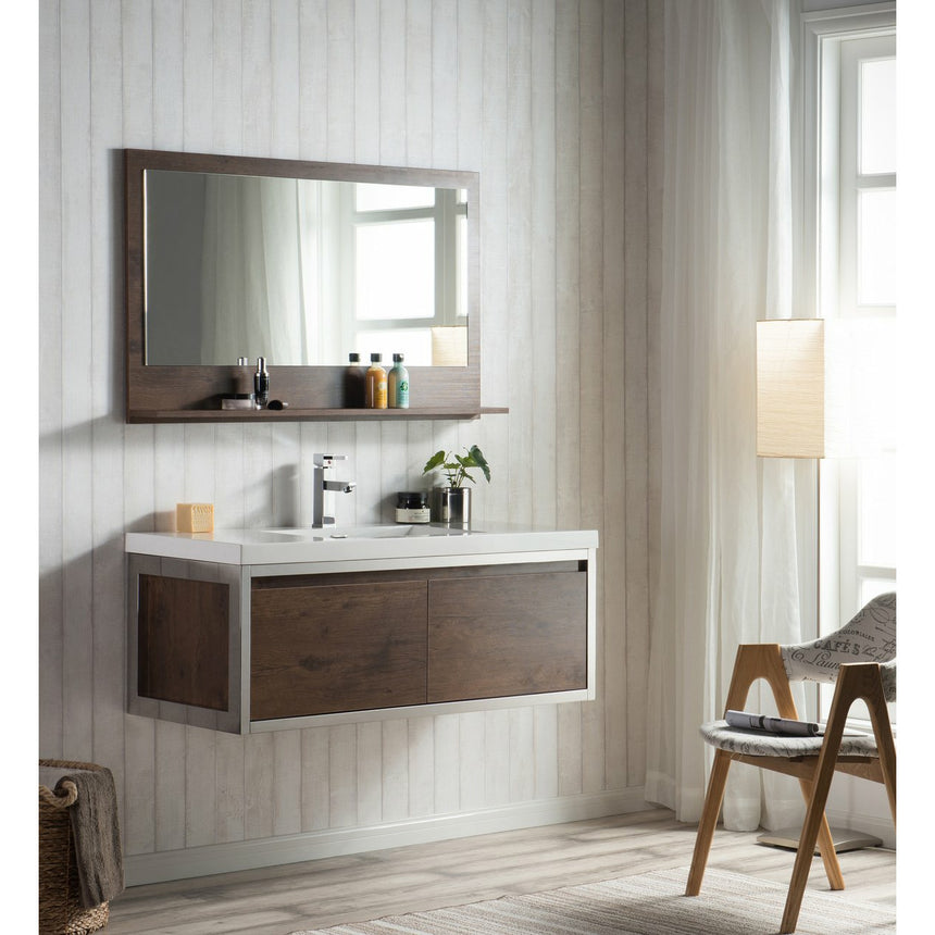 Bezier Floating Vanity - O&N Floating Vanity