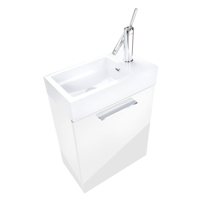 "Boutique Floating Vanity (10"" Depth) - O&N Floating Vanity"