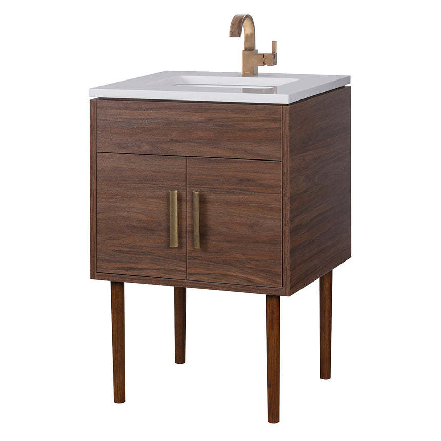Garland Mid-Century Modern Vanity - O&N Floating Vanity