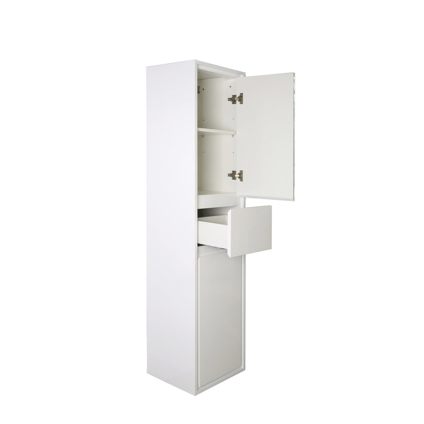 Saggia Linen Cabinet - O&N Floating Vanity