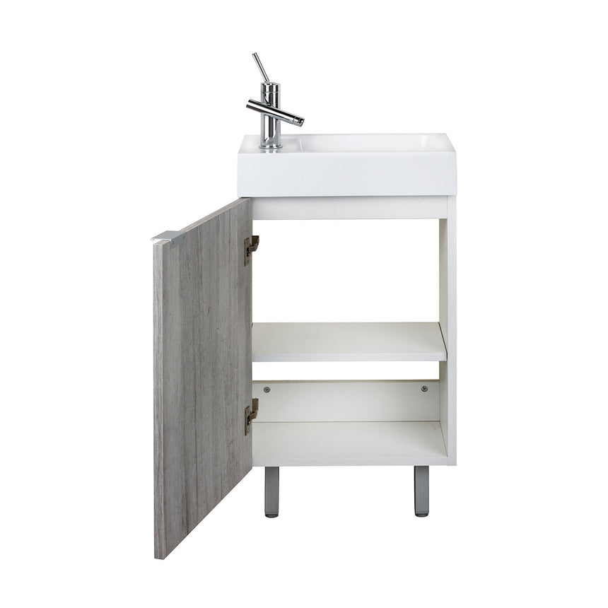 "Estudio Freestanding Vanity (10"" Depth) - O&N Floating Vanity"