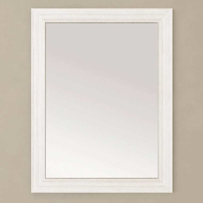 Cela Wood Frame Mirror - O&N Floating Vanity