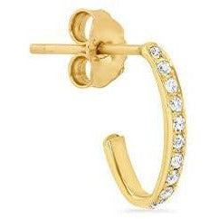 Diamond Edith Link Studs