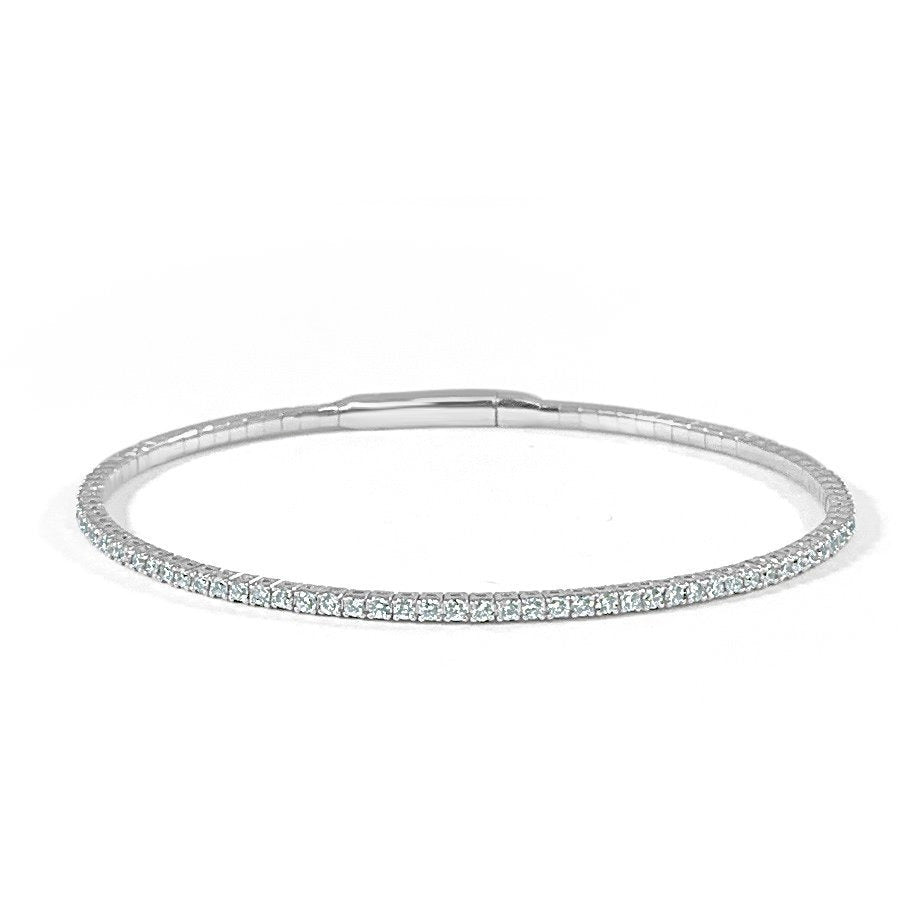 Diamond Flexible Bangle