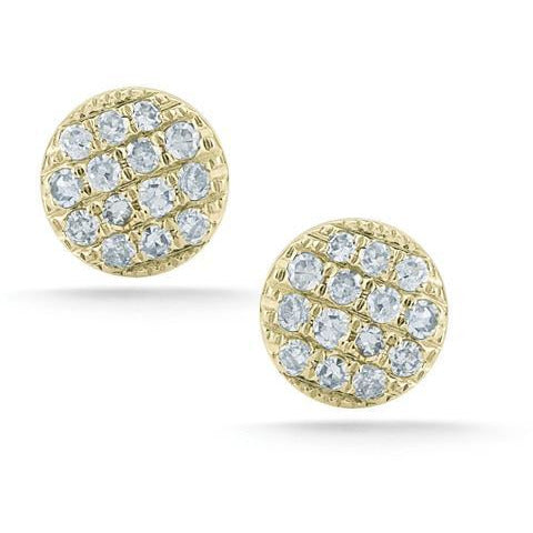 Lauren Joy Mini Disc Studs