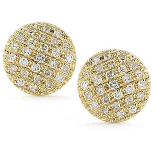 Lauren Joy Medium Disc Studs