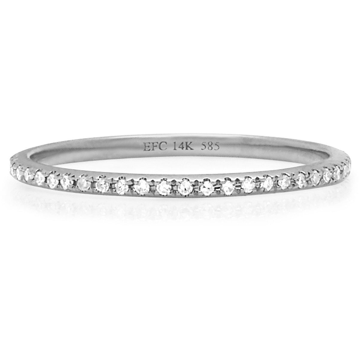Diamond Eternity Stack Ring