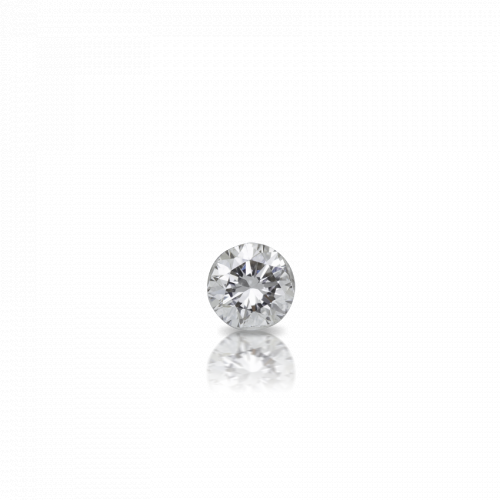 2mm Invisible Set Diamond Earstud