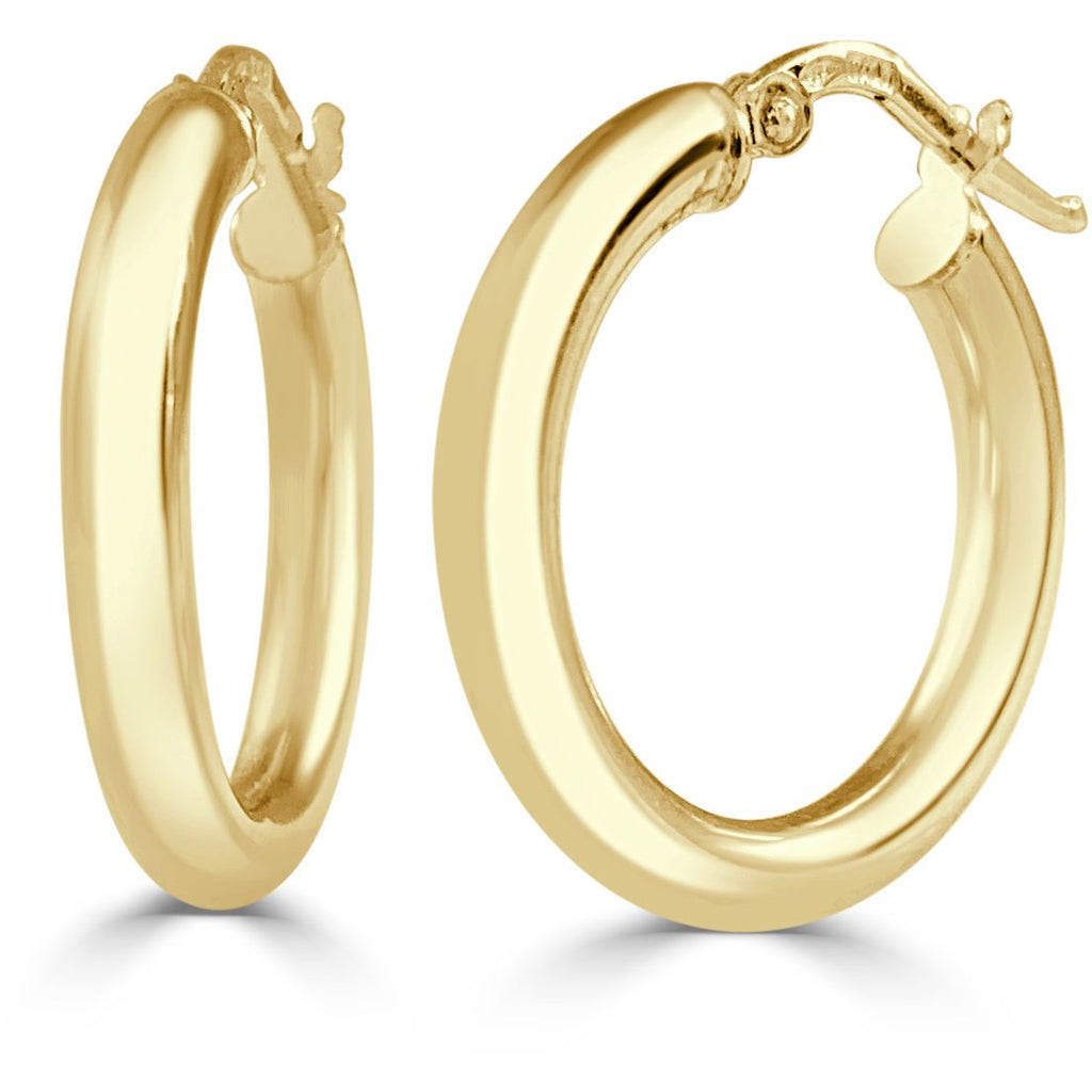 The Perfect Small Gold Hoop (Thick)