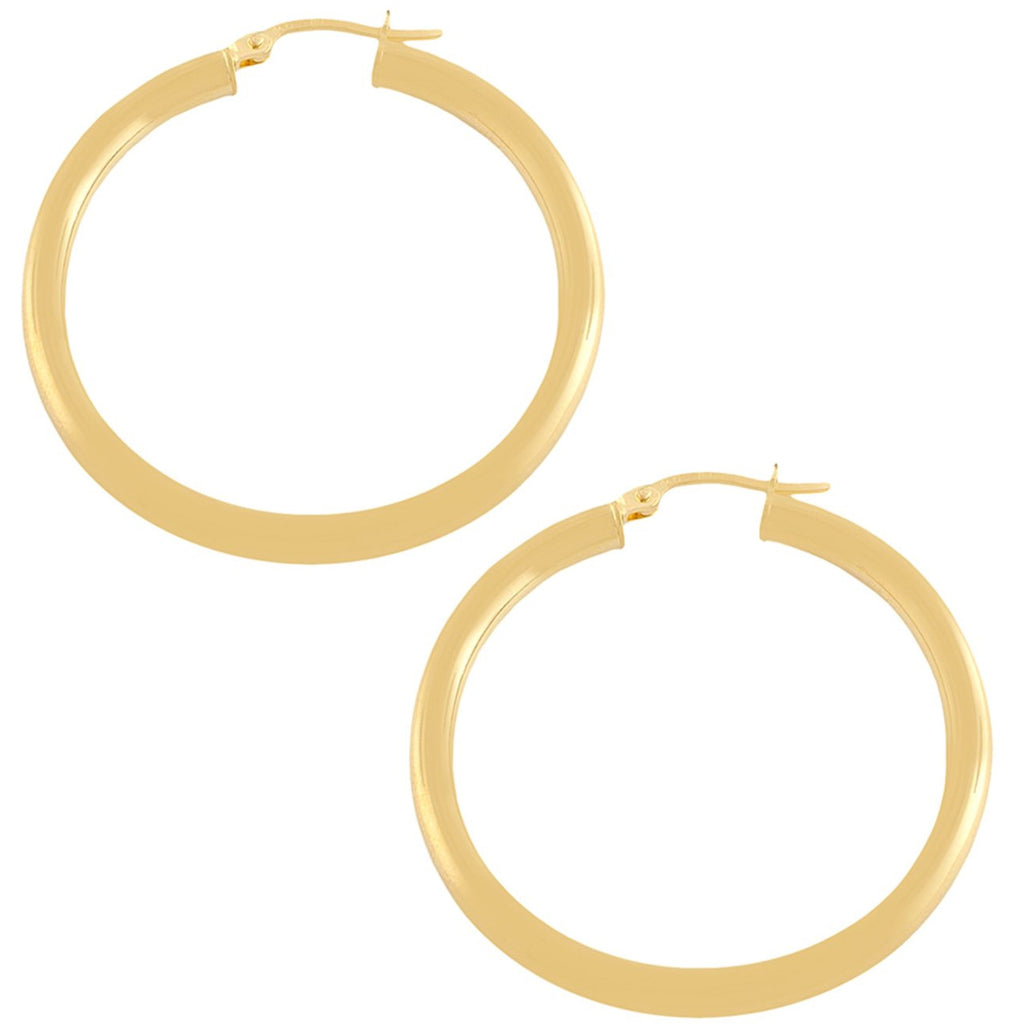 "The Perfect Gold Hoop 1.25"" (Thick)"