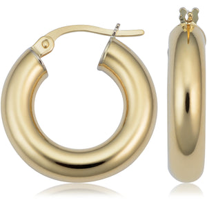 The Perfect Gold Hoop 15mm (Thick)
