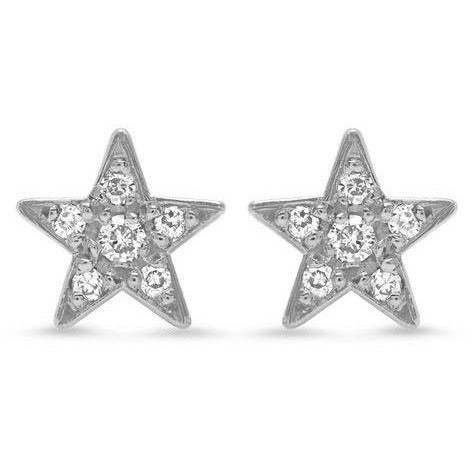 Diamond Mini Star Stud
