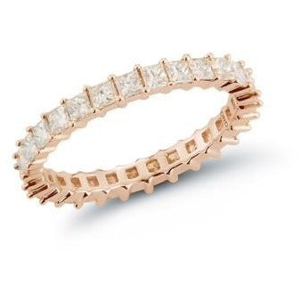 Millie Ryan Princess Cut Eternity Ring