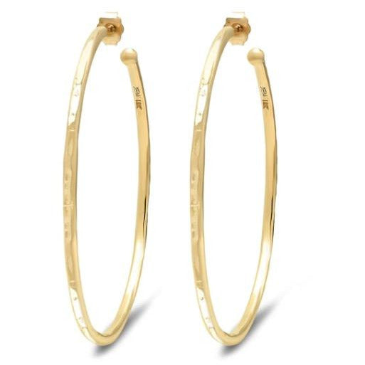 Medium Bangle Hoop Earrings