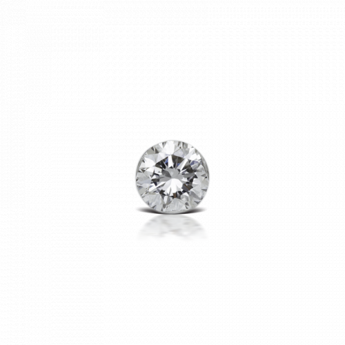 3mm Invisible Set Diamond Threaded Stud