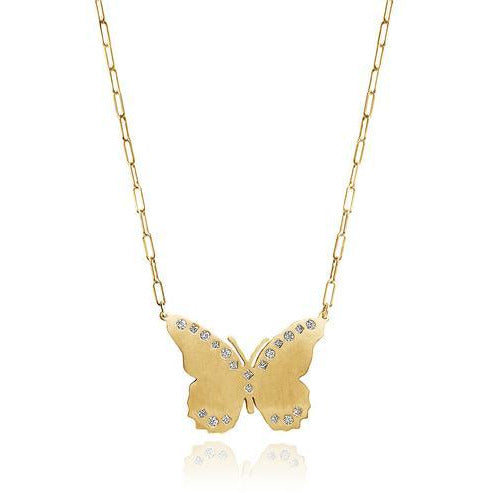 Lily Large Butterfly Necklace