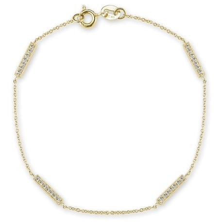 Sylvie Rose Multi Bar Bracelet