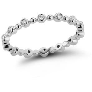 Poppy Rae Bezel and Pebble Eternity Ring