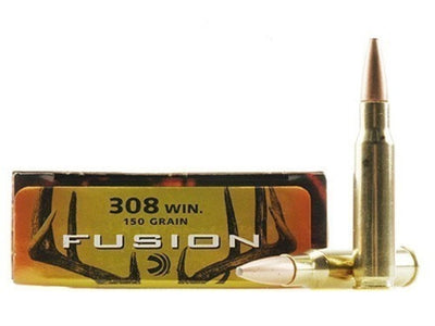 Rifle Ammunition Federal Fusion .308WIN Skived Tip Boat Tail 150gr