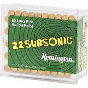 Remington Rifle Ammo - 0.22 - Subsonic Hollow Point OpenSeason.ie