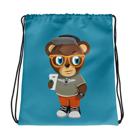 Pook The Bear Drawstring bag