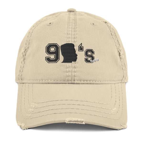 90's Baby Distressed Dad Hat