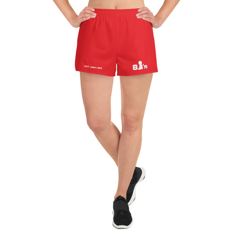 80's Baby Women's Athletic Short Shorts