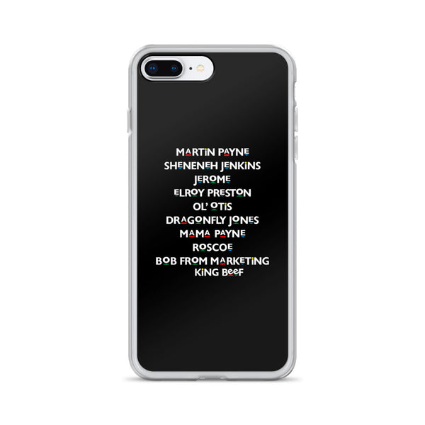 Martin Characters iPhone Case