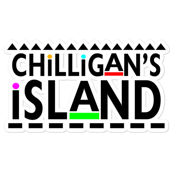 Chilligan's Island Bubble-free stickers