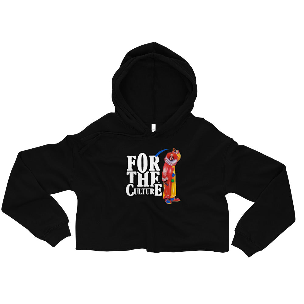 For The Culture (Homie The Clown) Crop Hoodie