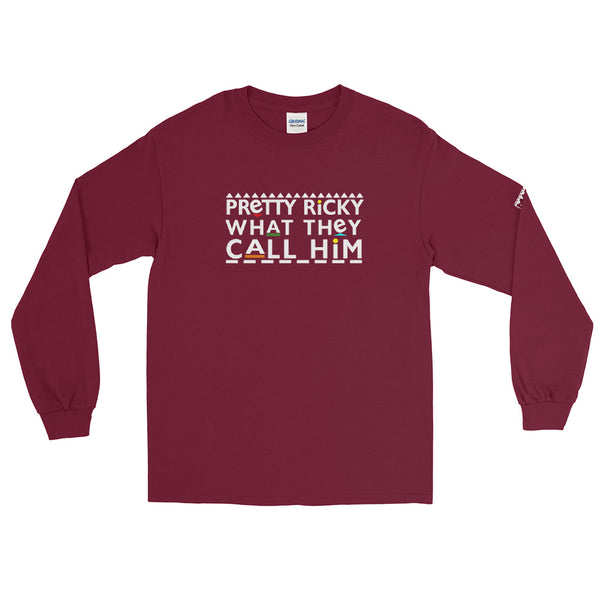 Pretty Ricky Men's Long Sleeve Shirt