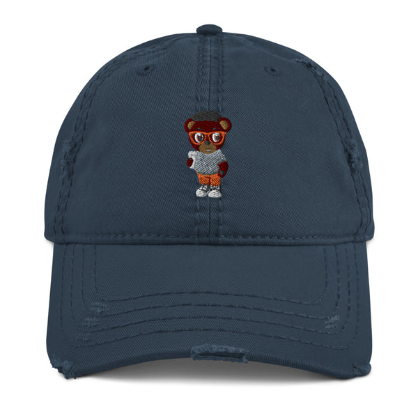 Pook The Bear Distressed Dad Hat