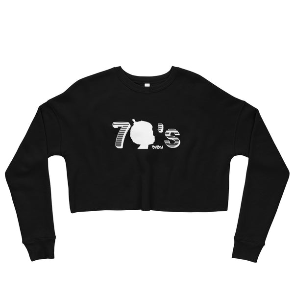 70's Baby Crop Sweatshirt