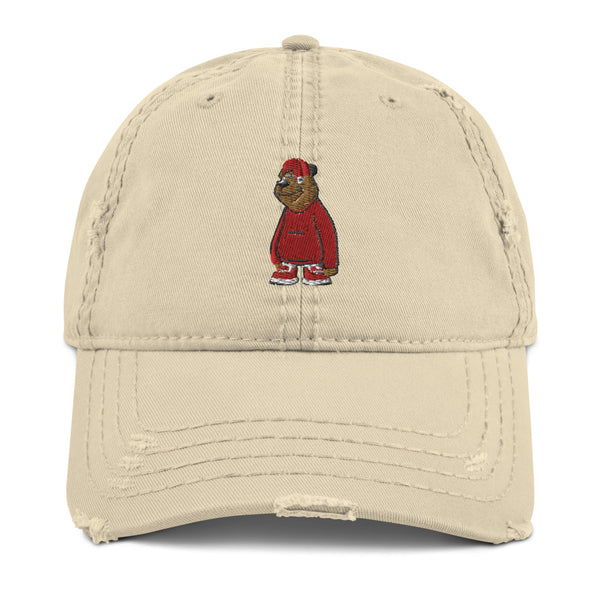 Freddie The Bear Distressed Dad Hat