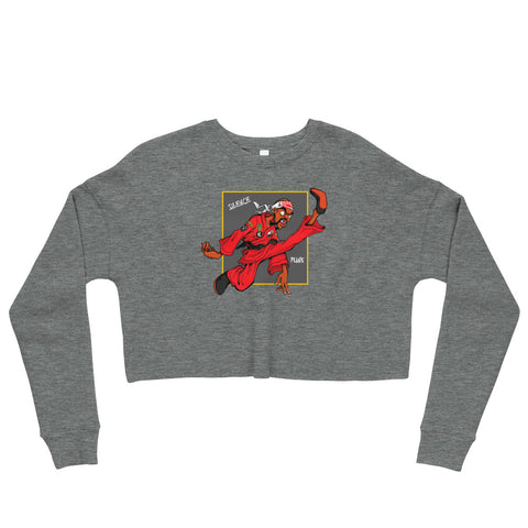 For The Culture (Dragon Fly Jones) Crop Sweatshirt