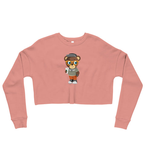 Pook The Bear Crop Sweatshirt