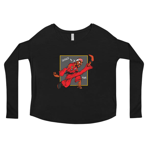 For The Culture (Dragon Fly Jones) Ladies' Long Sleeve Tee