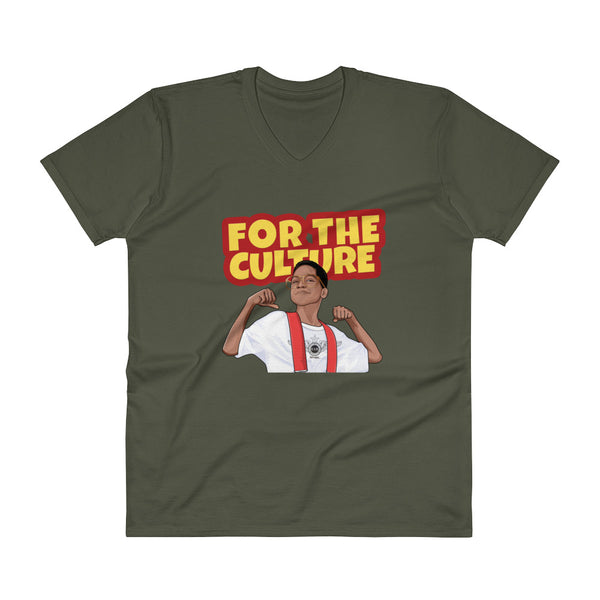 For The Culture (Steve Urkel) T-Shirt V-Neck T-Shirt