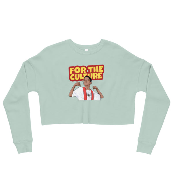 For The Culture (Steve Urkel) Crop Sweatshirt