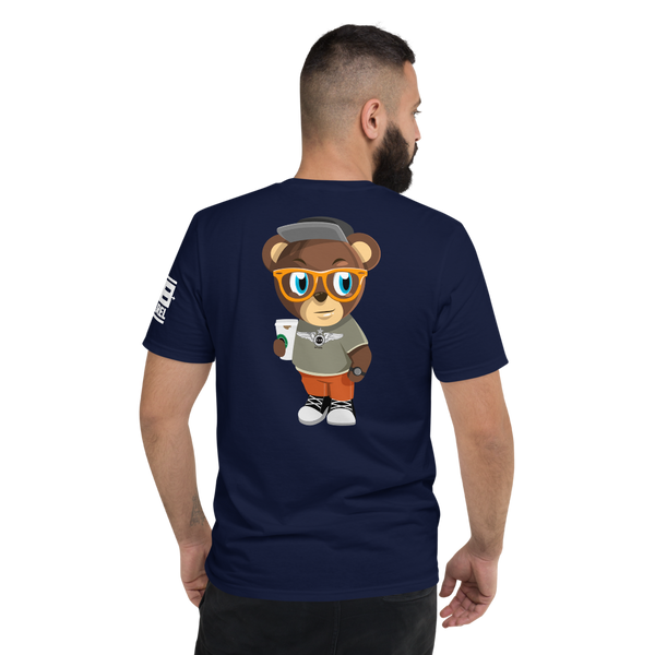 Pook The Bear (Back Print) T-Shirt