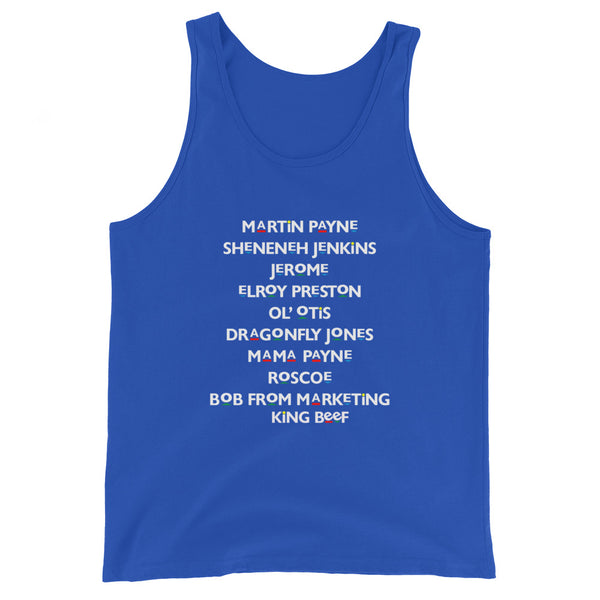 Martin Characters Tank Top