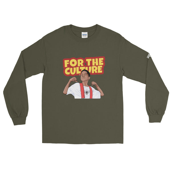 For The Culture (Steve Urkel) T-Shirt Men's Long Sleeve Shirt