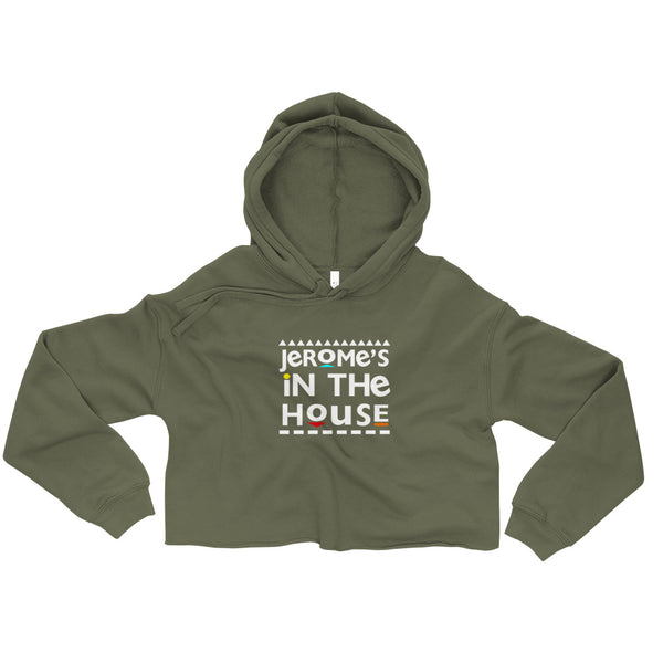 Jerome's In The House Crop Hoodie