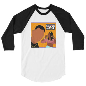 Welcome to the 90s (Martin) raglan shirt