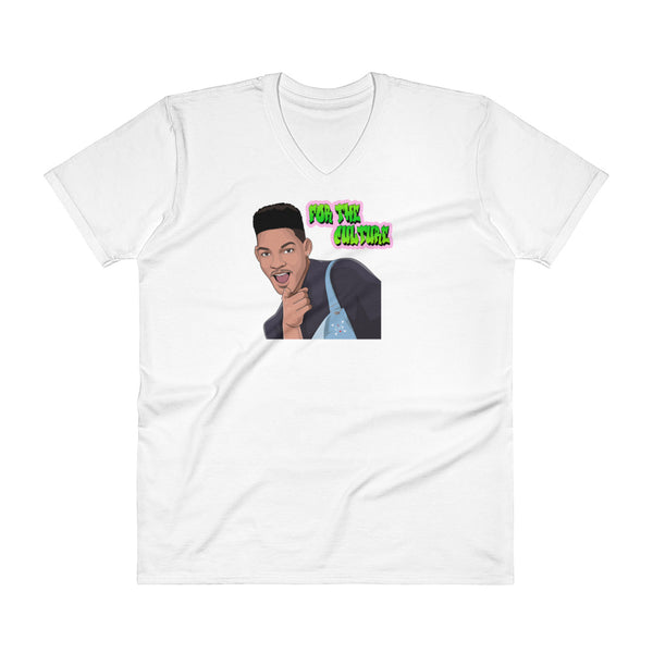 For The Culture (Fresh Prince) V-Neck T-Shirt