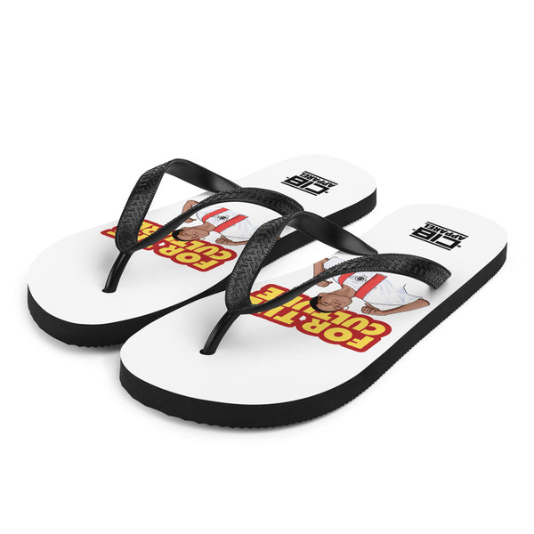 For The Culture (Steve Urkel) Flip-Flops
